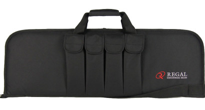 "36"" Rectangular Modern Sporting Rifle (MSR)/AR/AK-style carrying cases with 4 external magazine holders"