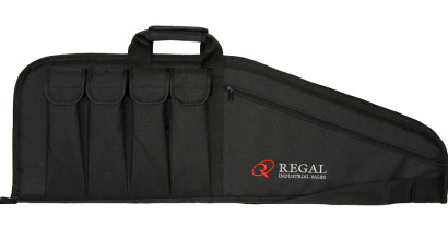 "36"" Modern Sporting Rifle (MSR)-AR/AK-style carrying cases with 4 external magazine holders"