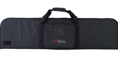 "46"" Rectangular Modern Sporting Rifle (MSR)/AR/AK-style carrying cases with external pouch in center"