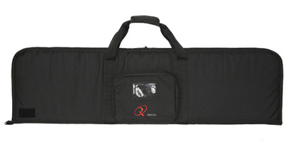 "50"" Rectangular Modern Sporting Rifle (MSR)/AR/AK-style carrying cases with external pouch in center"