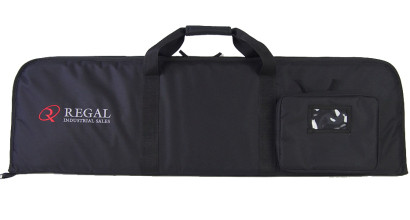 "46"" Rectangular Modern Sporting Rifle (MSR)/AR/AK-style carrying case with external pouch on end"