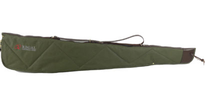 "50"" Green Canvas Scoped Rifle Case"