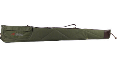 "52"" Green Canvas Shotgun Case"